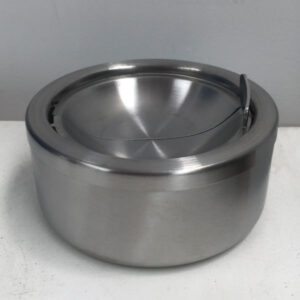 Stainless steel windproof ashray